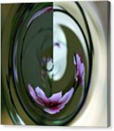 Reflection In A Drop Canvas Print