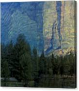 Reflection In The Merced River Canvas Print