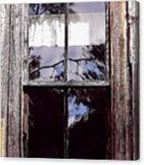 Reflection - In - The - Window  Canvas Print