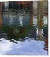 Reflection, No. 1 In Connetquot State Park Canvas Print