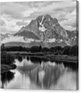 Reflection Of Signal Mountain Canvas Print