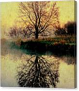 Reflection On Golden Pond Canvas Print