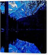 Reflection On String Lake Canvas Print
