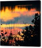 Reflection On The Lake Canvas Print
