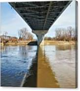 Reflection Shadow In Missouri River Canvas Print