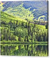 Reflections Alaska II Canvas Print