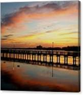 Reflections At Sunrise  Canvas Print
