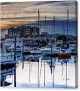 Reflections At Sunset Canvas Print