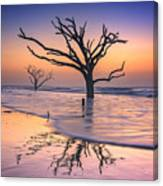 Reflections Erased - Botany Bay Canvas Print