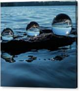 Reflections In Crystal Canvas Print