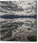 Reflections In Gray Canvas Print