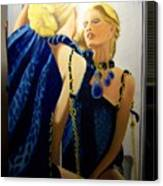 Reflections In The Mirror  Canvas Print