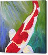 Reflections Koi Canvas Print