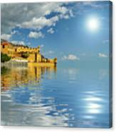 Reflections -madeira Canvas Print