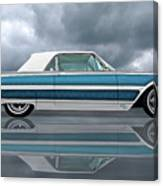 Reflections Of A 1961 Thunderbird Canvas Print