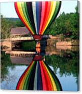 Reflections Of A Balloonist Canvas Print