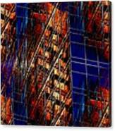 Reflections Of A City 3 Canvas Print