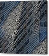 Reflections Of A City 4 Canvas Print
