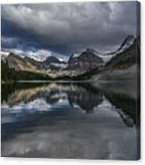 Reflections Of Assiniboine Canvas Print