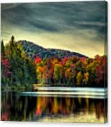 Reflections Of Autumn On West Lake Canvas Print