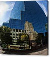 Reflections Of Fort Worth Canvas Print