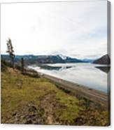 Reflections Of Mosier Canvas Print