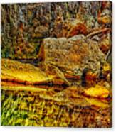 Reflections Of Rock Canvas Print