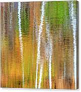 Reflections Of The Canadian Fall Canvas Print