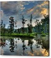 Reflections Of The Morning Canvas Print