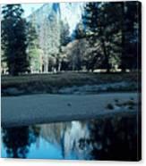 Reflections Of Yosemite Canvas Print