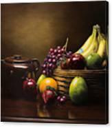 Reflections On A Bean Pot Canvas Print