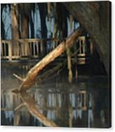 Reflections On Lake Pretty  Canvas Print
