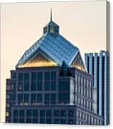 Reflections On Legacy Tower Canvas Print
