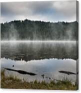 Reflections On Reflection Lake 2 Canvas Print
