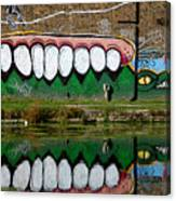 Reflective Canal 12 Canvas Print