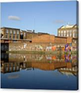 Reflective Canal 3 Canvas Print