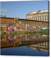 Reflective Canal 4 Canvas Print