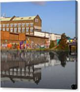Reflective Canal Canvas Print
