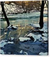 Reflective Chill Canvas Print