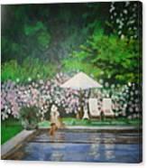 Reflective Moment Canvas Print