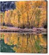 Reflecton Before Sunrise Canvas Print
