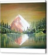 Reflexion Canvas Print