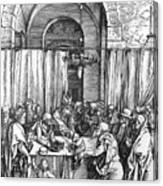 Refusal Of Joachim Offer 1503 Canvas Print