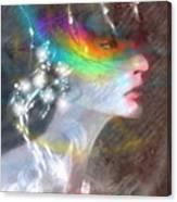 Regard Jalouse Canvas Print