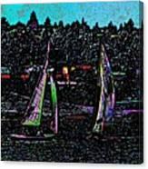 Regatta 2 Canvas Print