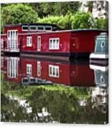 Regent Houseboats Canvas Print