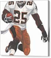 Reggie Bush New Orleans Saints Canvas Print