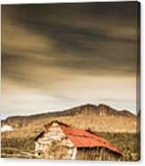 Regional Ranch Ruins Canvas Print