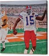Florida - Tennessee Football Canvas Print