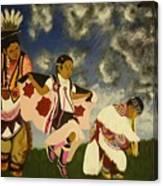 Reign Dance Canvas Print